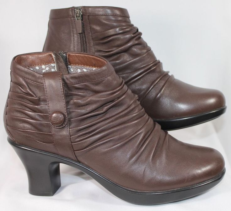 Dankso Brown Leather Ankle Boots 39 8.5-9 #Dansko #AnkleBoots