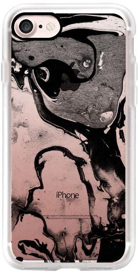 Casetify iPhone 7 Classic Grip Case - Transparent marble by Annika Janssen & Sandra Greiling #Casetify