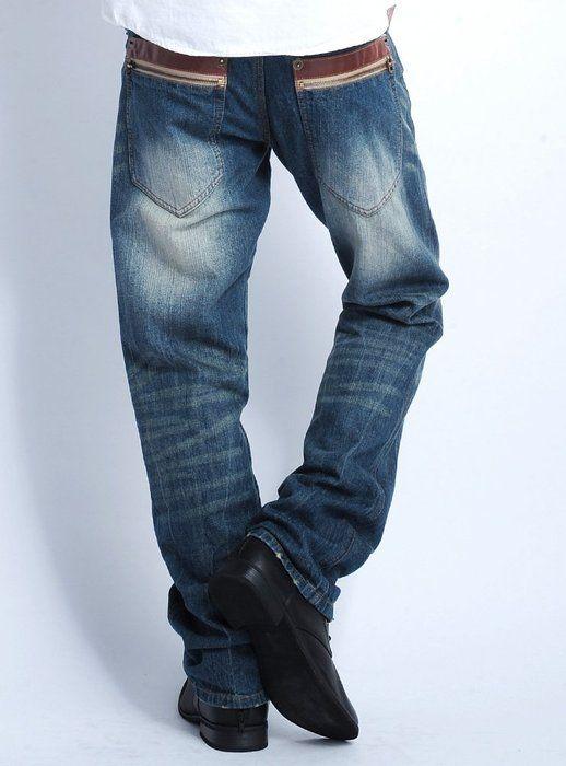 ブルーAタイプ L (ジャックポート)JACK PORT デニムジーンズ ストレート メンズ ストレートデニム パンツ ウォッシュ メンズ 美尻、脚長 ジーンズ JPP05565006617