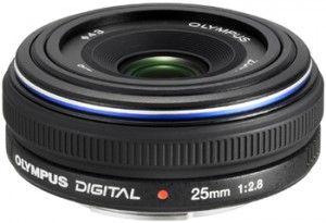 Olympus 25mm f2.8 Zuiko Digital Pancake Lens Large