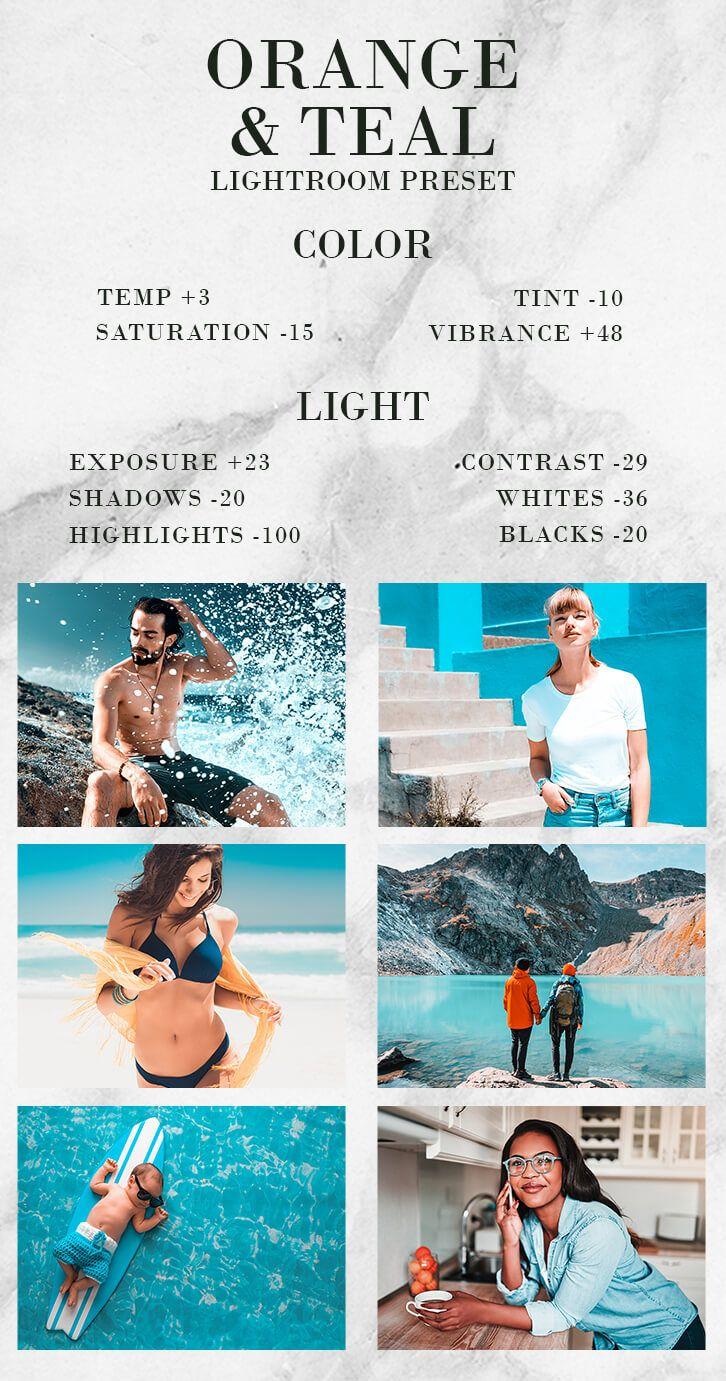 Free Pro Lightroom Filters Mobile Preset Orange Teal Photo Editing Lightroom Lightroom Tutorial Photo Editing Lightroom Presets Tutorial
