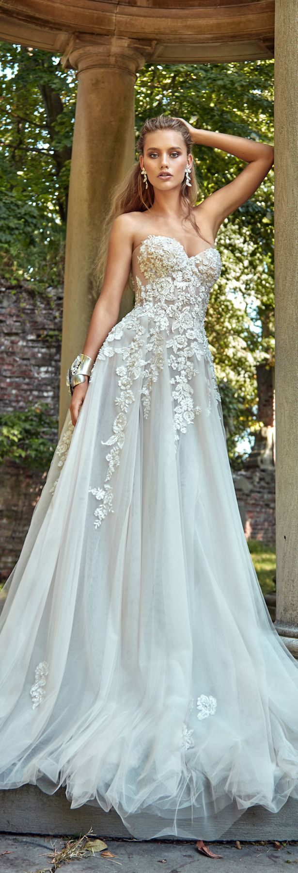 297 best Bridal Collection for a Beach Wedding* images on Pinterest ...