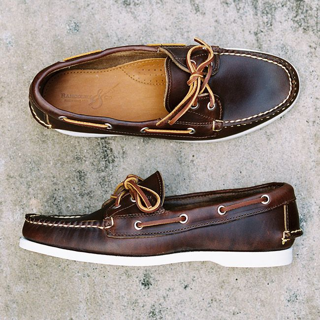 Rancourt Mocs. Amazing boat shoes.  If only I had the money...