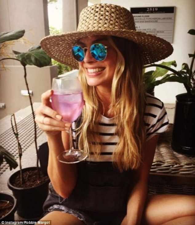 Home for the holidays!  Margot Robbie, 26, is back home for Christmas, sharing an Instagram photo from Queensland's Gold Coast on Friday