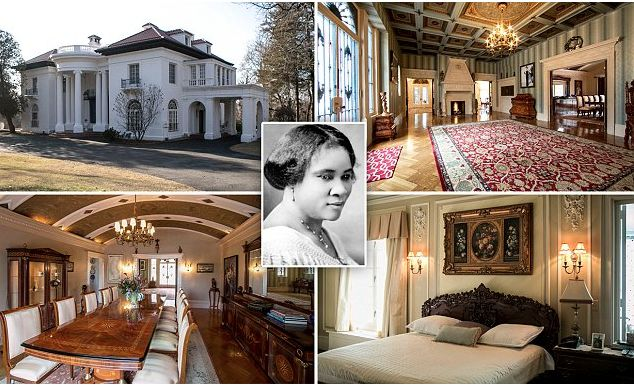 Nearly 100 years ago, Madam CJ Walker, America's first female self-made millionaire, built a beautiful mansion in Irvington, New York. Villa Lewaro is a 34-room Italianate manse in a neighbor…