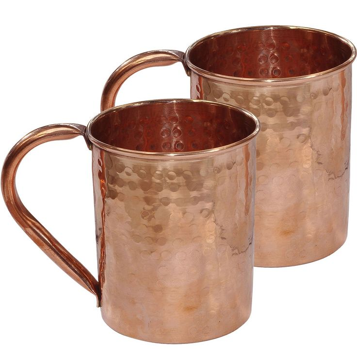 drinkware accessories hammered copper moscow mule mug set of 2 mugs coffee cups. Black Bedroom Furniture Sets. Home Design Ideas