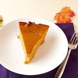 Pumpkin Pie....with a secret ingredient to make it extra yummy