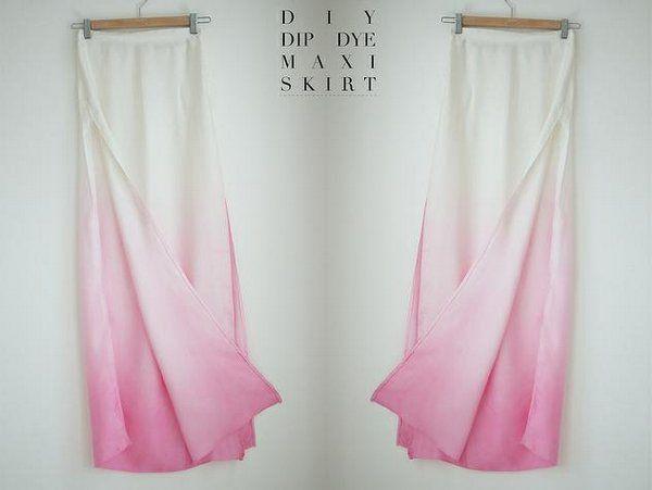 Un tono de color en tu falda al instante