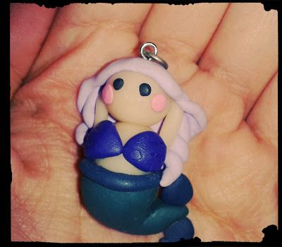Free mermaids to everyone!! Contact us and get these clay mermaids for Christmas absolutely free!!