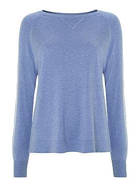 Linea, Was £50 Now £20  http://www.houseoffraser.co.uk/Linea+Weekend+Knitted+Sportsluxe+Jumper/187343692,default,pd.html