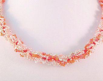 Único rojo romántico joyería damas collar de abalorios joyas romántico rojo, mujeres de joyería de lujo para una noche fecha