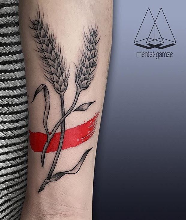 1000 Ideas About Wheat Tattoo On Pinterest Tattoos