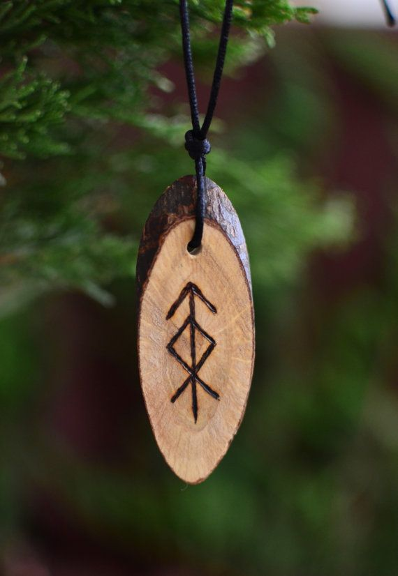 Viking Runes Protection Amulet for Home Defense by TheNorseWind