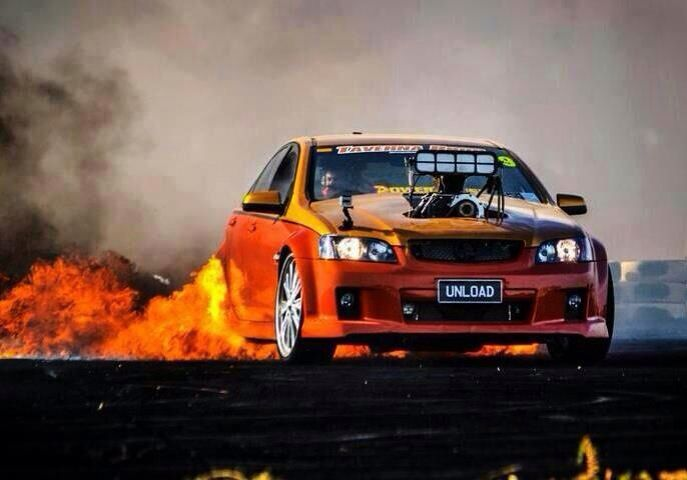 UNLOAD Burnout Car