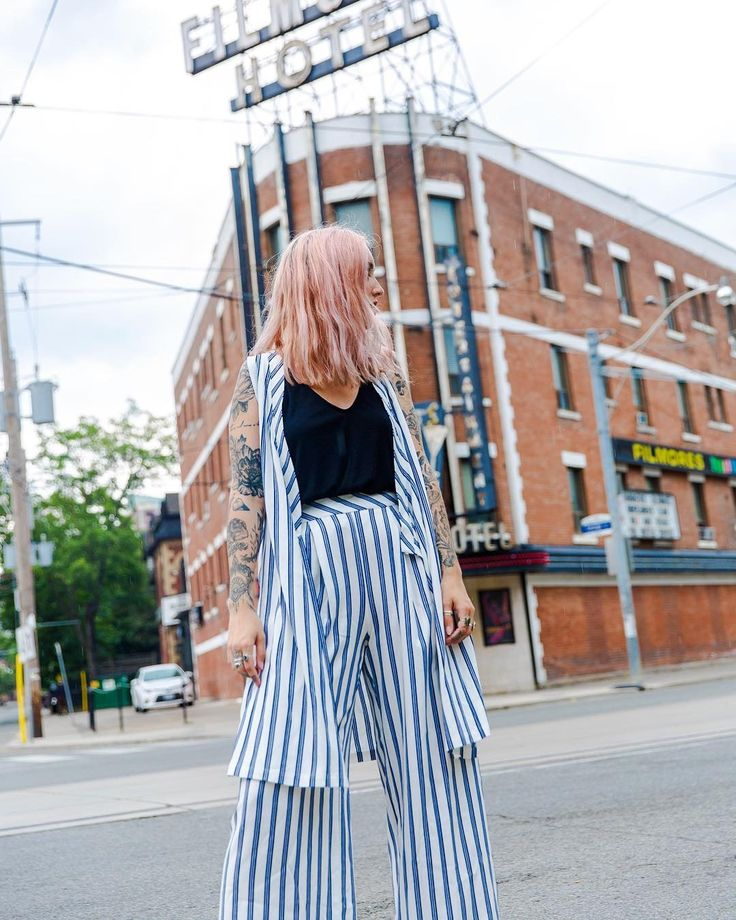 """232 Likes, 3 Comments - FREE PEOPLE CANADA (@fpcanada) on Instagram: """"Sets for the weekend  #tuxedostripeset #setsforlife  #yyzliving"""""""