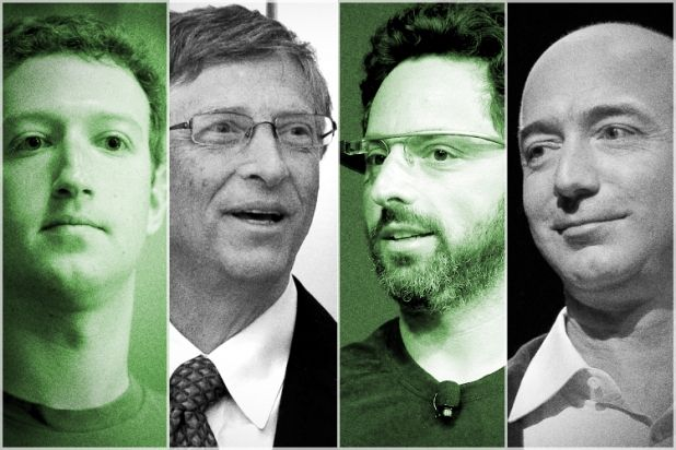Silicon Valley Titans Strive to Save Humanity