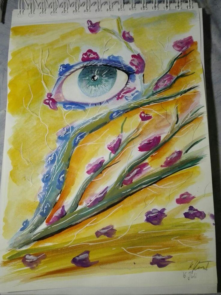 Traditinal Art and Sketch @Kerstin Glänzel https://www.facebook.com/kerstinglaenzel/