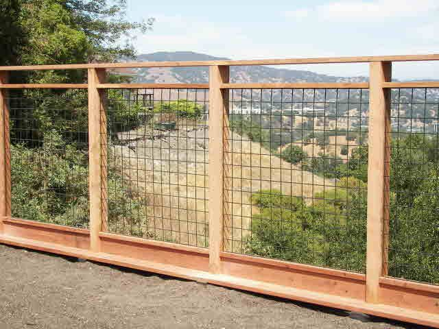 Wood And Wire Fence Panels Nz94 Roccommunity