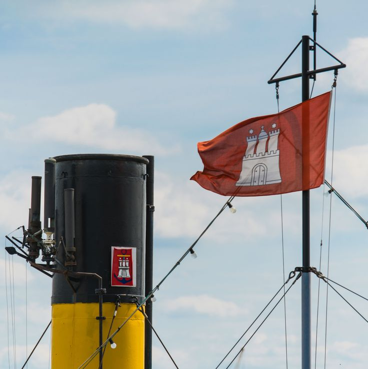 Hamburg Flagge   Bildschönes Hamburg