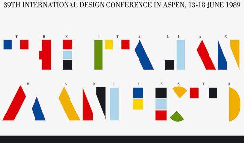 italo lupi aspen italian #manifesto #type #typography