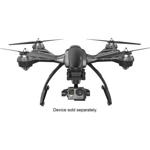 YUNEEC - Typhoon G Quadcopter RTF Drone - Black - Front Zoom