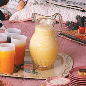 Orange Smoothie - there is marshmallow creme in this recipe!