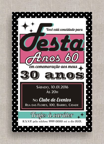 50 Birthday Invite is beautiful invitation example