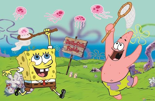 What To Do For Jellyfish Stings Spongebob Patrick