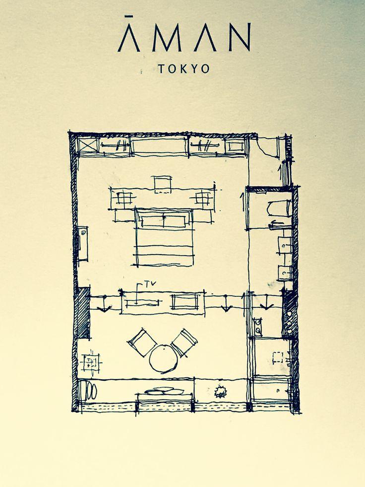 Room Design Floor Plan: Aman Resorts In 2019
