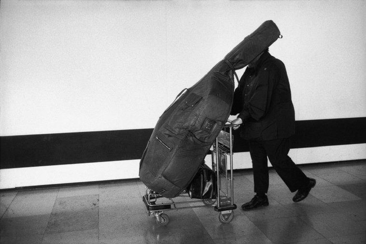 Guy Le Querrec/Magnum Photos  The American jazz musician Charles MINGUS