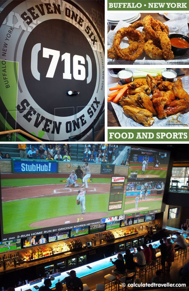 Watching ALL the Games at once at (716) Food and Sport, Buffalo Canalside | Calculated Traveller