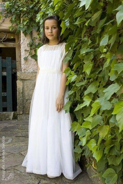 Vestidos de comunión 2015: fotos y vídeos