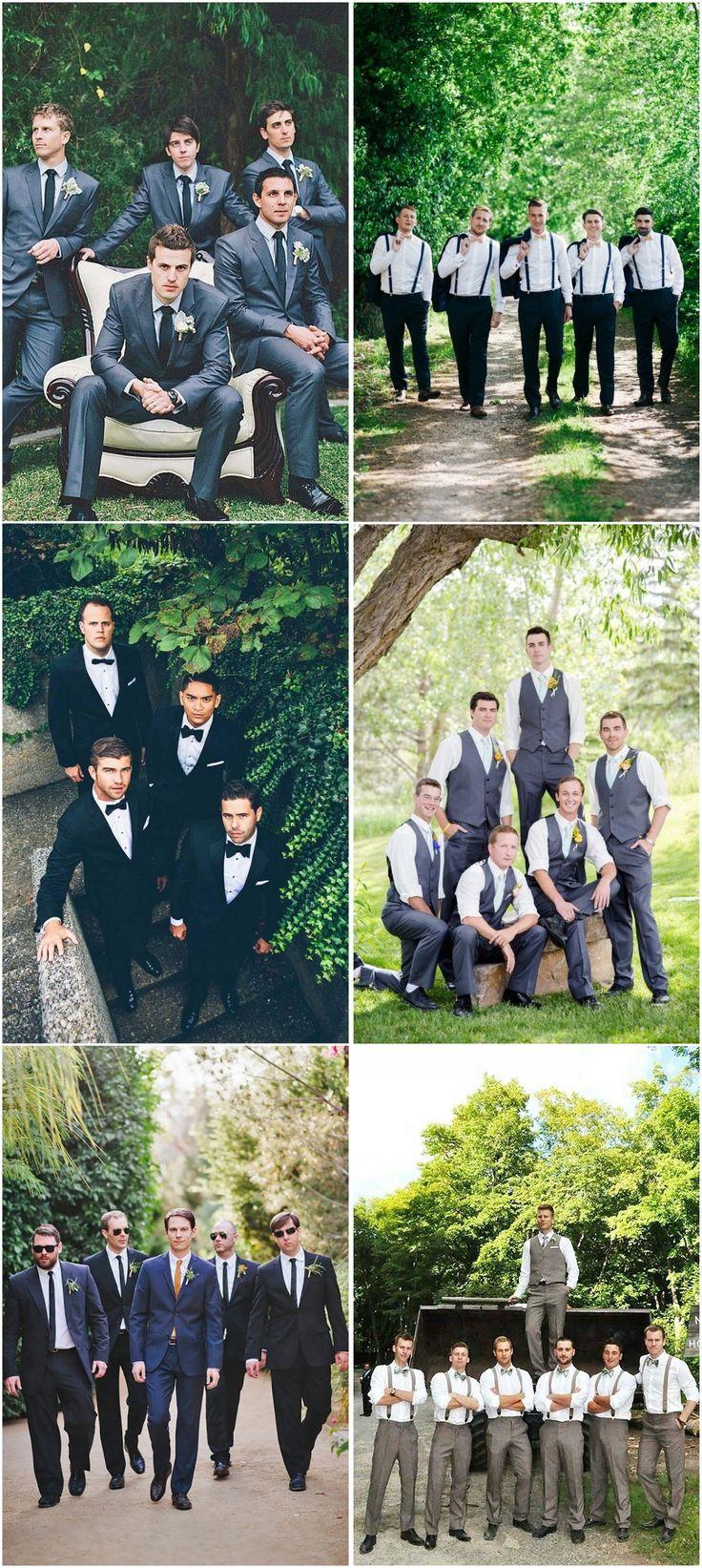 Creative Wedding Poses for Groomsmen #weddings #groom #groomsmen