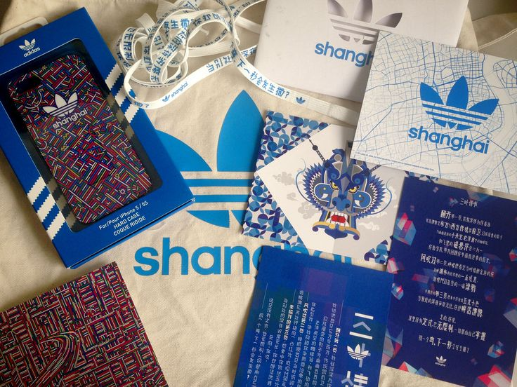 Promotion design items by Name&Name for Adidas Originals Shanghai Flagship  Store.