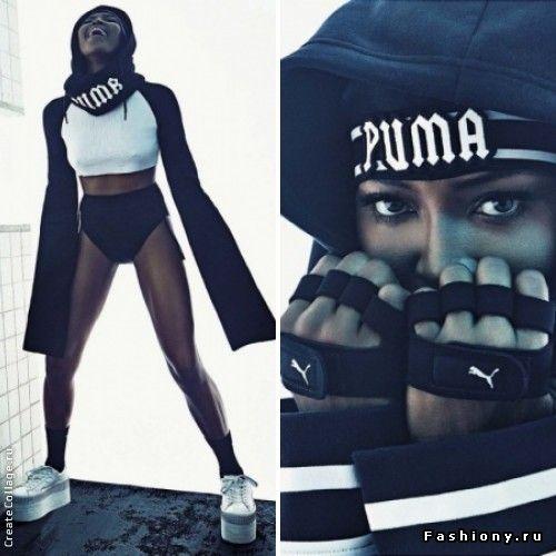 Неузнаваемая Наоми Кэмпбелл для итальянского Vogue