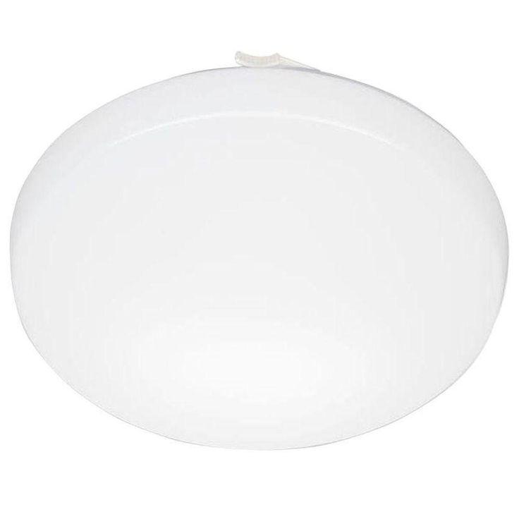 Lithonia Lighting 11 in. Round Low-Profile White LED Flushmount