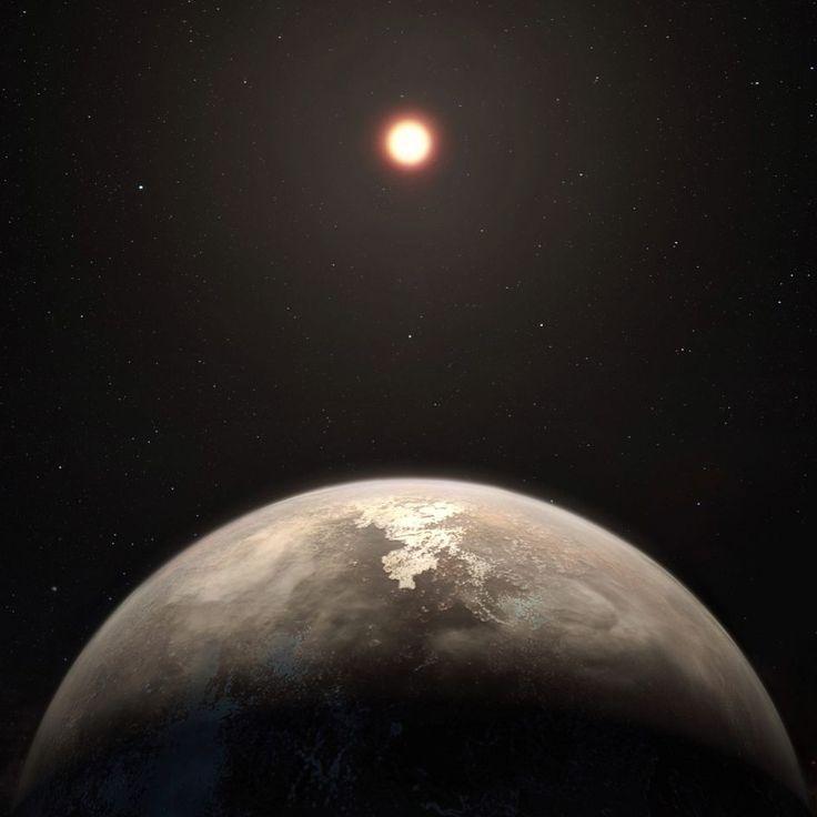 Hallan un nuevo planeta templado