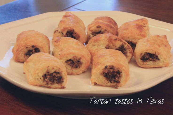 Scottish Recipes - Haggis Rolls  Gee, Thank you, T....