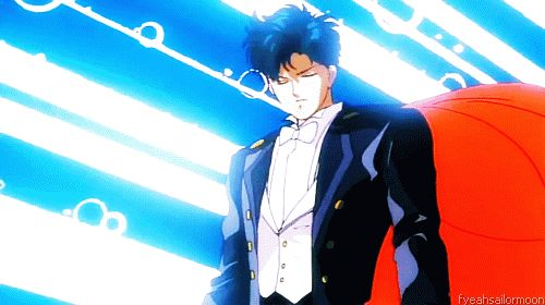 Tuxedo Mask to Prince Endymion (The Promise of a Rose: Sailor Moon R Movie) I love this man
