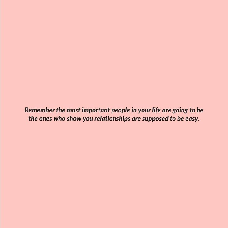 The most important people in your life.