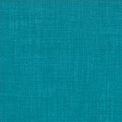 1 Half Metre Length Weave by Moda Linen look print fabric - 9898 53 Turquoise   eBay