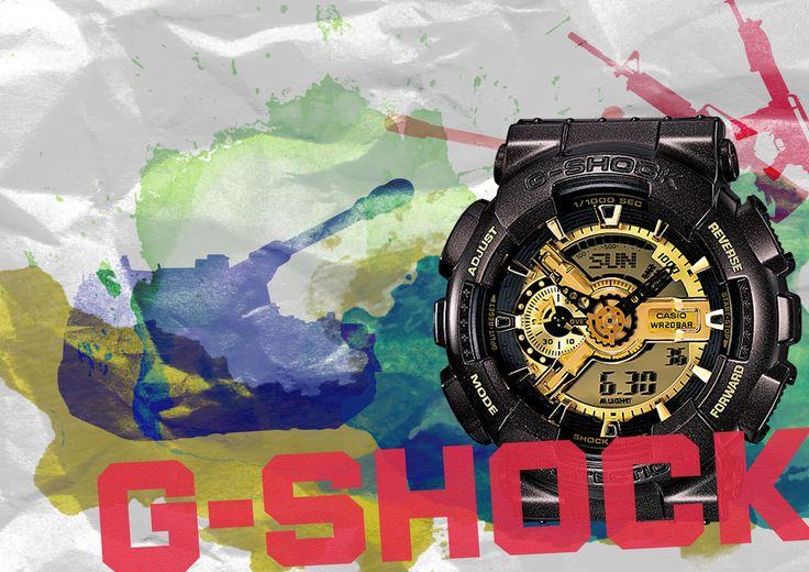 지샥을 자유롭게 표현하기 (공모전) potoshop, g shock, contest exhibit, expression, design 한국IT전문학교 웹디 구유정