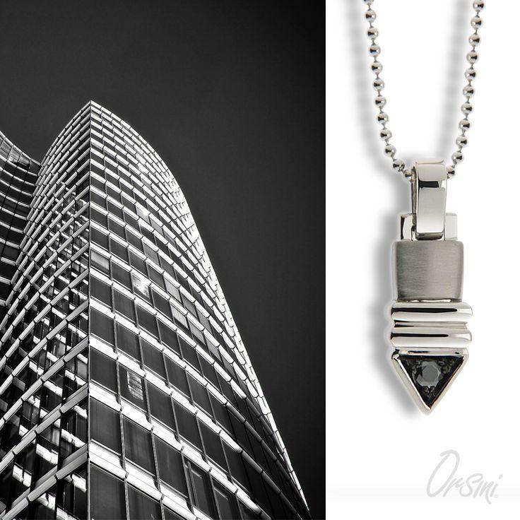 Stile e armonia nelle forme… è il look dell'uomo di successo Scopri i #gioielliuomo in #argento di #Orsini