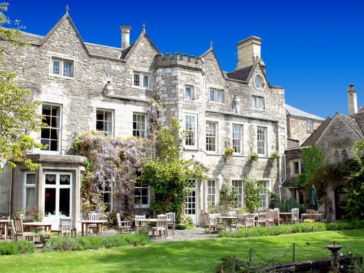 Close Hotel in Cotswold market town of Tetbury, just acquired by Cotswold Inns & Hotels.