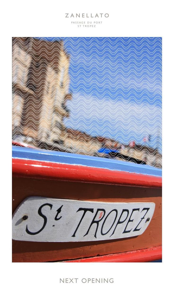 Zanellato Boutique Coming Soon ⛵️   #zanellato #boutiquesainttropez