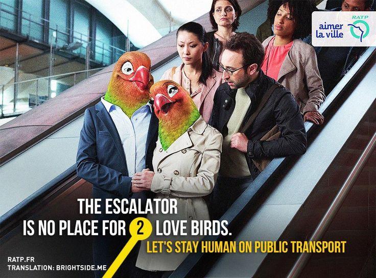Campaña transporte público