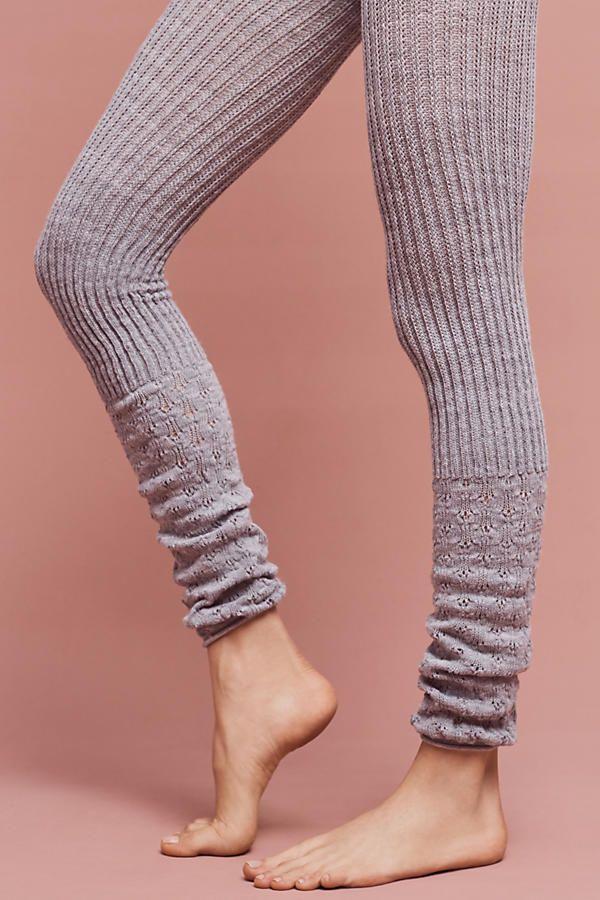 Slide View: 2: Scrunched Hem Leggings