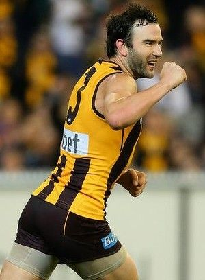 HAWTHORN star Jordan Lewis has been crowned the Club's best and fairest player of season 2014.