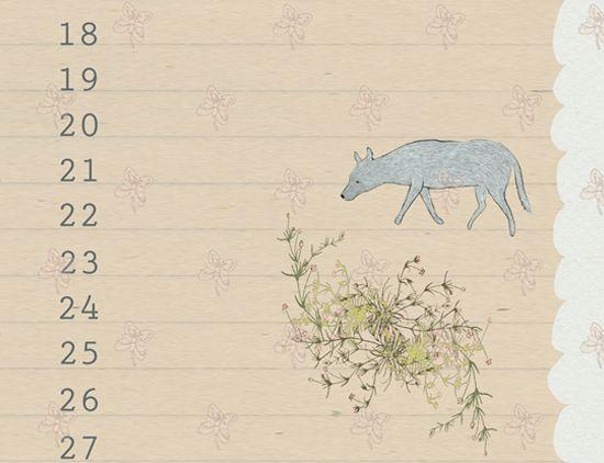 future calendars page