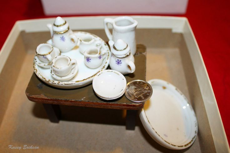 Vintage miniature tea set | Flickr - Photo Sharing!
